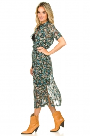 Freebird |  Floral midi dress Hayden | blue  | Picture 3