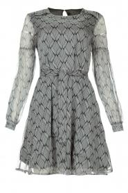 Freebird |  Print dress Celie | black  | Picture 1