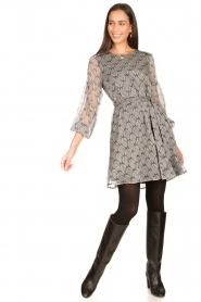 Freebird |  Print dress Celie | black  | Picture 3