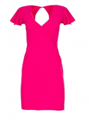 Fracomina |  Dress with open back Daphne | pink  | Picture 1