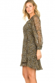 Freebird |  Floral wrap dress Bora | natural  | Picture 5