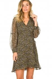 Freebird |  Floral wrap dress Bora | natural  | Picture 2