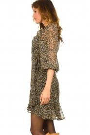 Freebird |  Floral wrap dress Bora | natural  | Picture 6
