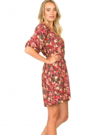 Freebird |  Print dress Irena | red  | Picture 6