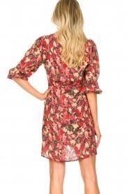 Freebird |  Print dress Irena | red  | Picture 7