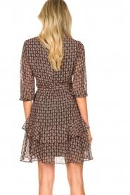 Freebird |  Printed wrap dress Lola | pink  | Picture 5