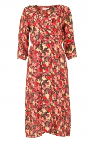 Freebird | Dress with print Yuma | red  | Picture 1