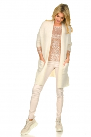 Fracomina |  Sequin top Angelia | nude  | Picture 3