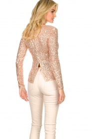 Fracomina |  Sequin top Angelia | nude  | Picture 6