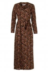 Freebird |  Button down dress with belt Vikas | black  | Picture 1