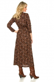 Freebird |  Button down dress with belt Vikas | black  | Picture 6