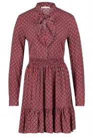 Freebird |  Print dress Elia | red  | Picture 1