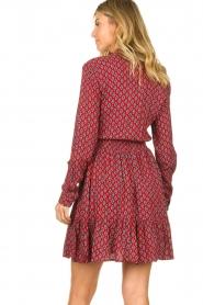 Freebird    Print dress Elia   red    Picture 6