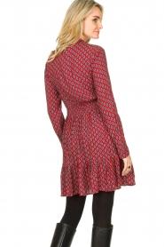 Freebird |  Print dress Elia | red  | Picture 7