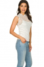 Fracomina |  Lace top July | white  | Picture 4