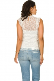 Fracomina |  Lace top July | white  | Picture 5