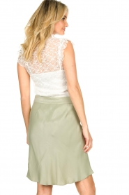 Fracomina |  Lace top July | white  | Picture 6