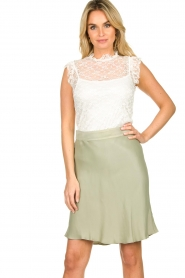 Fracomina |  Lace top July | white  | Picture 2