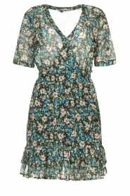 Freebird |  Floral dress Emily | blue  | Picture 1