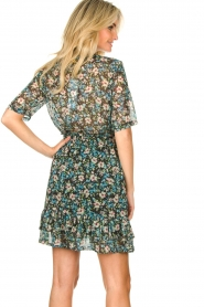 Freebird |  Floral dress Emily | blue  | Picture 7