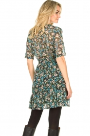 Freebird |  Floral dress Emily | blue  | Picture 6