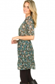 Freebird |  Floral dress Emily | blue  | Picture 5