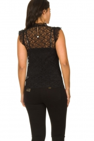 Fracomina |  Lace top July | black  | Picture 5