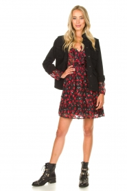 Freebird |  Print dress Gianna | red  | Picture 3
