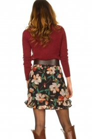 Freebird |  Floral skirt Femm | black  | Picture 6