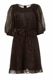 Freebird |  Print dress Anou | black  | Picture 1