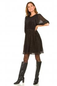 Freebird |  Print dress Anou | black  | Picture 3