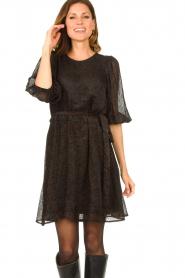 Freebird |  Print dress Anou | black  | Picture 2