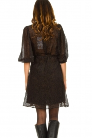 Freebird |  Print dress Anou | black  | Picture 6