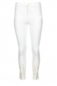 Fracomina   Jeans with lace Suzan   white    Picture 1