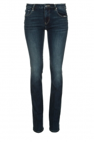 Fracomina |  Jeans with stone details Pamela | blue  | Picture 1