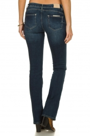 Fracomina |  Jeans with stone details Pamela | blue  | Picture 5