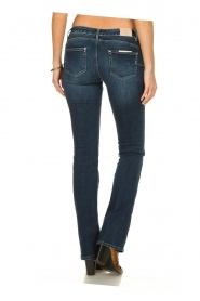 Fracomina |  Jeans with stone details Pamela | blue  | Picture 4