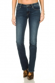 Fracomina |  Jeans with stone details Pamela | blue  | Picture 2