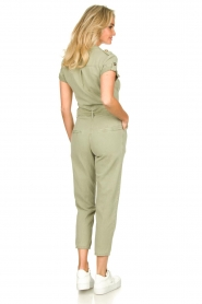 Fracomina |  Jumpsuit with stones Perla | green  | Picture 6