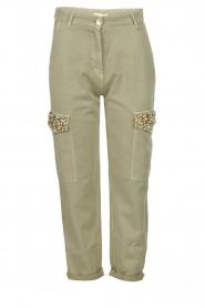 Fracomina | Pants Perla | groen  | Picture 1
