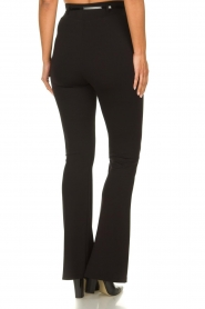 Fracomina | Trousers with belt Felicia | black  | Picture 5