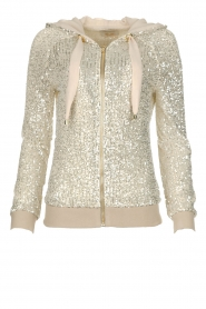 Fracomina | Sequin jacket Fraco | natural  | Picture 1