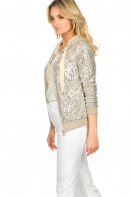 Fracomina | Sequin jacket Fraco | natural  | Picture 5