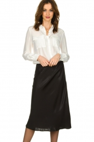 Set |  Blouse with pockets Evi | white   | Picture 2