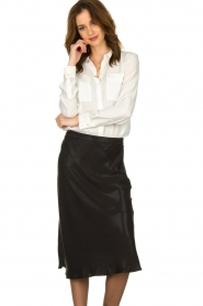 Set |  Blouse with pockets Evi | white   | Picture 4