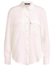 Set |  Blouse with pockets Evi | white   | Picture 1
