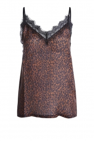 Set |  Top with leopard print Tigra | black  | Picture 1