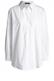 Set |  Wide blouse Donna | white  | Picture 1