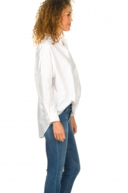 Set |  Wide blouse Donna | white  | Picture 5