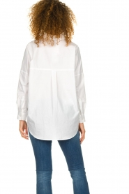 Set |  Wide blouse Donna | white  | Picture 6